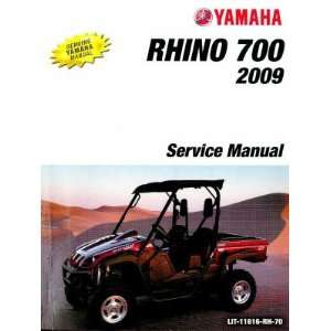 Yamaha YXR700 Rhino Side X Side Factory Service Manual Yamaha Motors