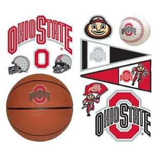 Ohio State Buckeyes   22 College Wall Stickers Decals