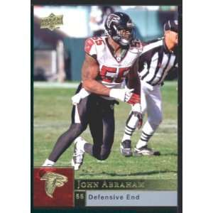 John Abraham   Falcons   2009 Upper Deck NFL Football