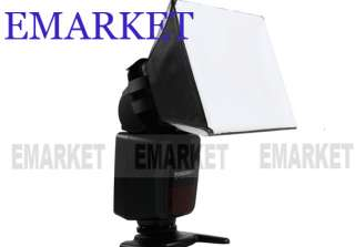 Foldable Flash Diffuser Soft Box for all Flash Unit