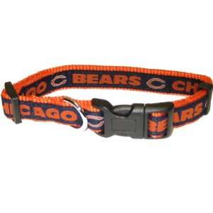 Pets First NFL Chicago Bears Collar, Medium