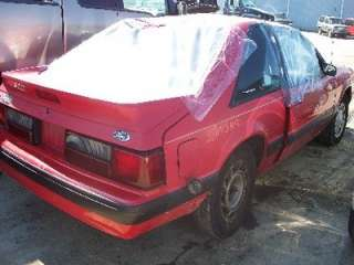 87 88 89 90 FORD MUSTANG ENGINE 2.3L 4 CYL