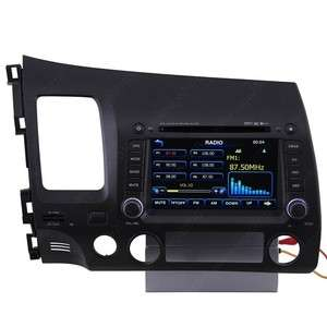 Car GPS Navigation Radio TV Bluetooth USB  IPOD DVD Player