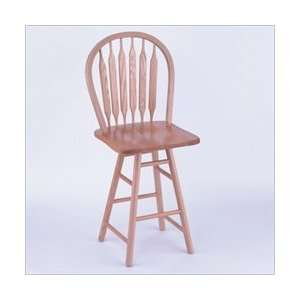 Co. HD 24 High Maple Wood Arrow Back Counter Stool Furniture & Decor