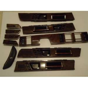 BUICK RIVIERA WOOD DOORS/DASH/STEERING INTERIOR TRIM & WINDOW SWITCHS