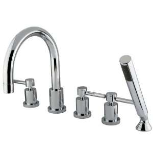 Elements of Design ES83265DL Concord Roman Tub Filler, 5 Pieces