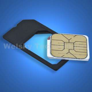 10 MICRO SIM Card Adapter Adaptor For iPHONE 4G 4S EA233C