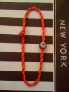 RED KABBALAH BRACELET, red evil eye,good luck charm