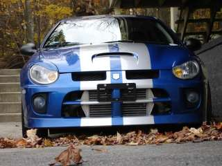 Dodge SRT 4 Racing Rally Stripe vinyl decal decals kit