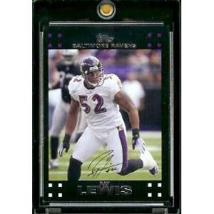 Topps Football # 268 Ray Lewis   Baltimore Ravens   NFL Trading Cards