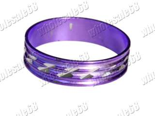FREE wholesale lot 100pcs Aluminum colorful charm rings
