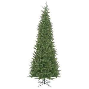9 Carolina Fir Slim Artificial Christmas Tree   Unlit
