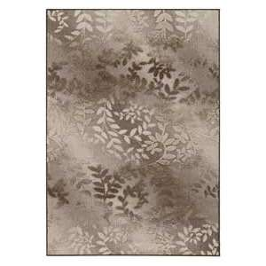 Couristan Sunscape Ivy Vine Cocoa and Ivory 46535002 Outdoor 37 x 5