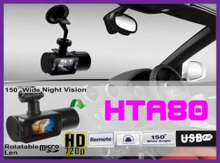 IR Car dash Rotable Camera DVR video recorder Cam HTA