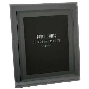 Art Deco Glass Mirror Picture Photograph Frame 10 x 8