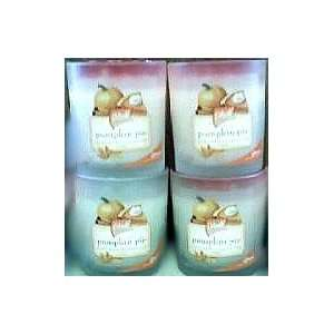 GLADE 4 oz JAR CANDLE PUMPKIN PIE [3 PACK] LIMITED HOLIDAY