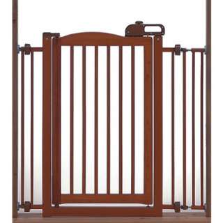 Richell One Touch Wood Pet Dog Gate Autmn Matte #R94118 803840941188