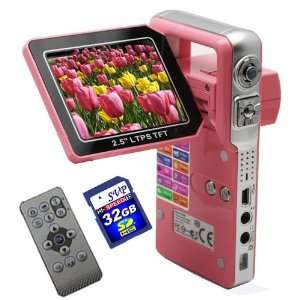 with a 2.5 TFT LCD Monitor (Free 32GB SDHC Card)