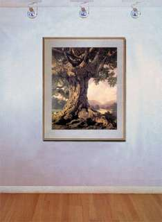 An Ancient Tree BIG Maxfield Parrish Art Deco Print