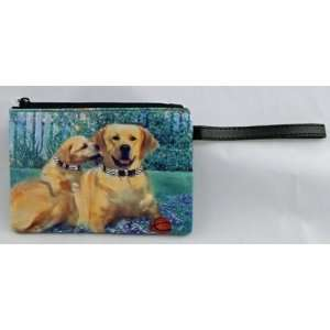 Yellow Lab Dog Coin Purse