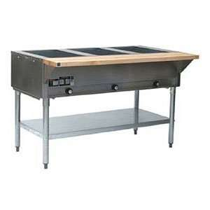 Eagle Group DHT3 120 Hot Food Table 3 Wells 48 Length Galvanized