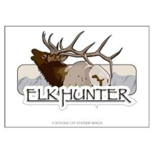 Elk Hunter (Bumper Sticker)