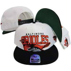 Baltimore Orioles Two Tone Big Logo Plastic Snapback