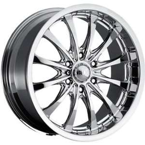 Boss 307 20x8.5 Chrome Wheel / Rim 6x5.5 with a 10mm Offset and a 108