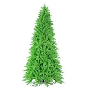 K883146 Lime Ashley Spruce 54 Artificial Christmas Tree in Lime