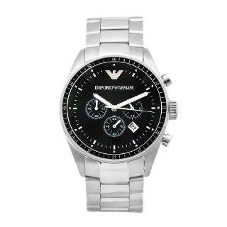 AR2434 Chronograph Stainless Steel Watch Emporio Armani Watches