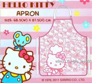 Sanrio Hello Kitty Cotton Kitchen Apron Cooking Dress 02
