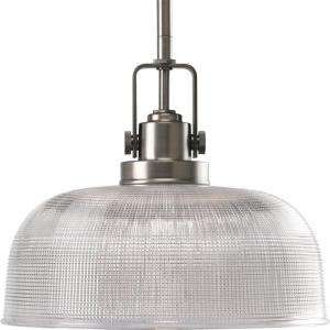 Progress Lighting Archie Collection Antique Nickel 1 Light Pendant