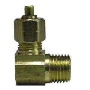 Watts Ander Lign 5/8 in. x 1/2 in. Brass 90 Degree Compression x MIP