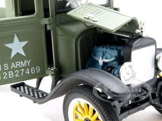 Brand new 132 scale diecast car model of 1923 Ford Model TT Military