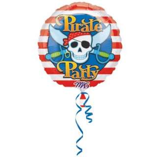 Halloween Costumes Pirate 18 Foil Balloon