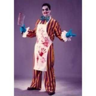 Adult Killer Clown Costume   Crazy, scary clown costume featuring a