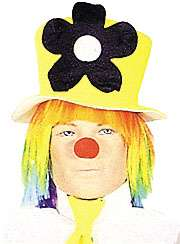 neon daisy clown hat clown costume hats regular $ 10 99 price $ 8