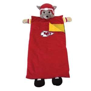 Kansas City Chiefs Kids Football Sleeping Bag  Sports