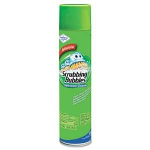 Bathroom Cleaner/Wipes, Aerosol Spray, Antibacterial, 25oz
