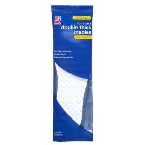 Rite Aid Double Thick Insoles, Mens, One Size Fits All