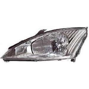 00 02 FORD FOCUS HEADLIGHT LH (DRIVER SIDE), W/O HID Lamp, SVT Model