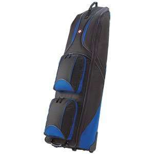 Golf Travel Bags Journey 4.0 Wheeled Travel Covers Black/Blue