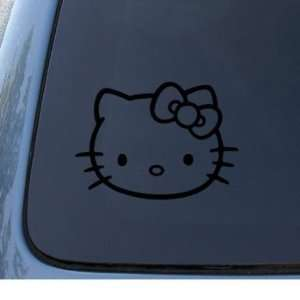 HELLO KITTY   Cat Feline   Car, Truck, Notebook, Vinyl Decal Sticker