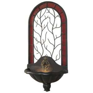 Large Twigs Iron Indoor/Outdoor Wall Fountain by Hunter