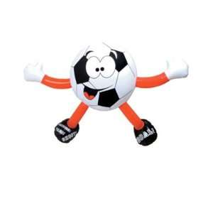 Inflatable Soccer Ball Sports Buddy Figure Decoration  Toys & Games
