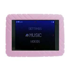 Skque Pink Silicone Skin Case for Iriver L Player Series