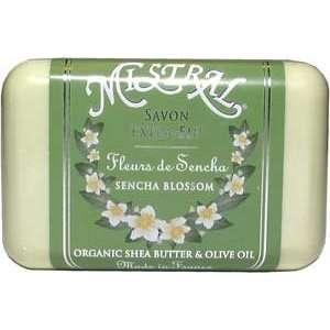 Mistral Shea Butter Soap   Sencha Blossom Beauty