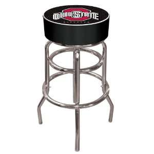 University Logo Pub Table (Black Bar Stool) Black