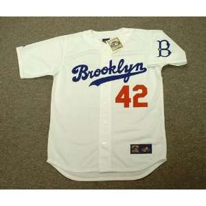 1955 Majestic Cooperstown Throwback Baseball Jersey
