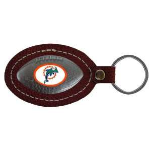 NFL Leather Key Chain   Miami Dolphins
